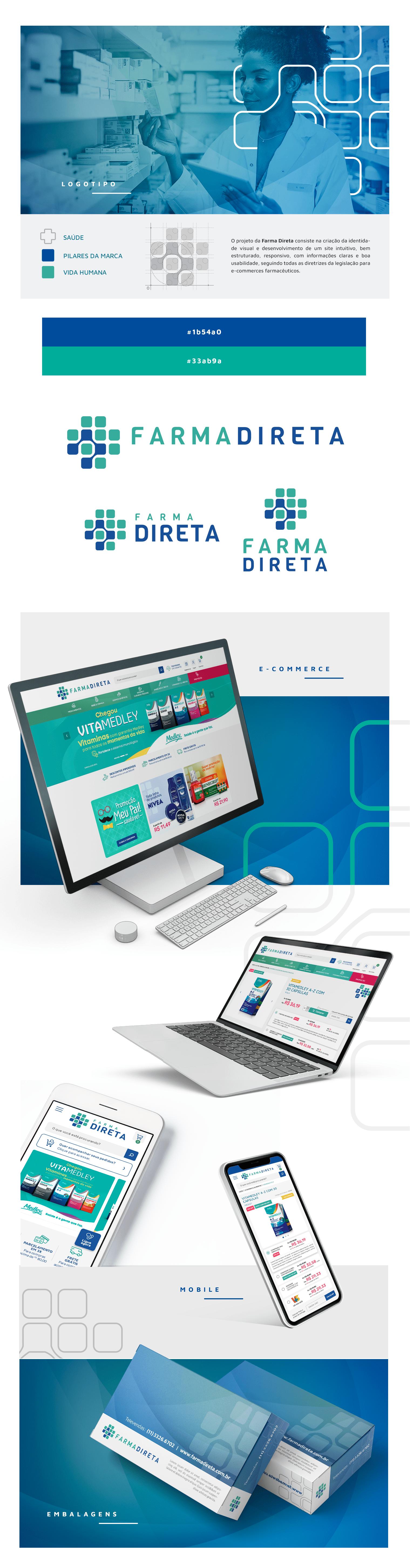 E-commerce – Farma Direta – Portfólio Degrau Publicidade e Internet